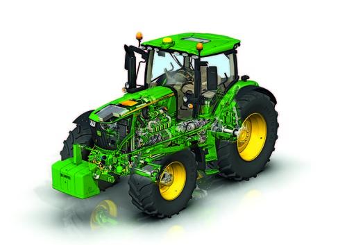 New Tractor Motors : New john deere r tractors feature stage iv engines farol