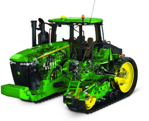 John Deere unveils new 9R/9RT Series tractors for 2015