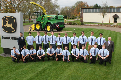 Another record intake for John Deere & Babcock training