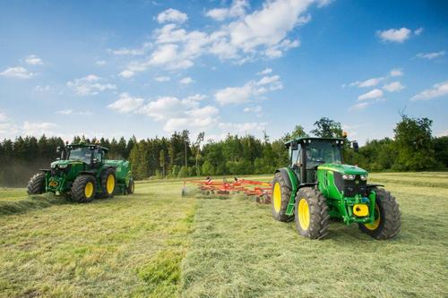 John Deere 6M and 6R Series tractors go 'compact'