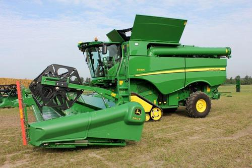 Performance enhancements for S-Series combines