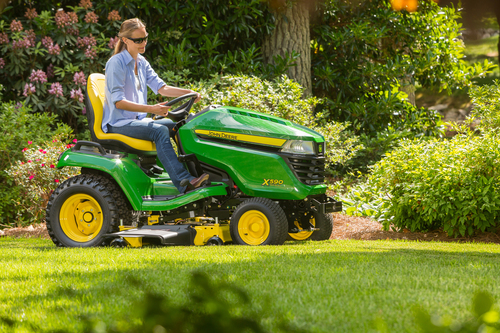 New John Deere lawn tractors for 2015