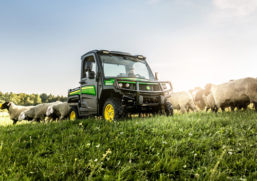 John Deere innovations on show at AgriScot