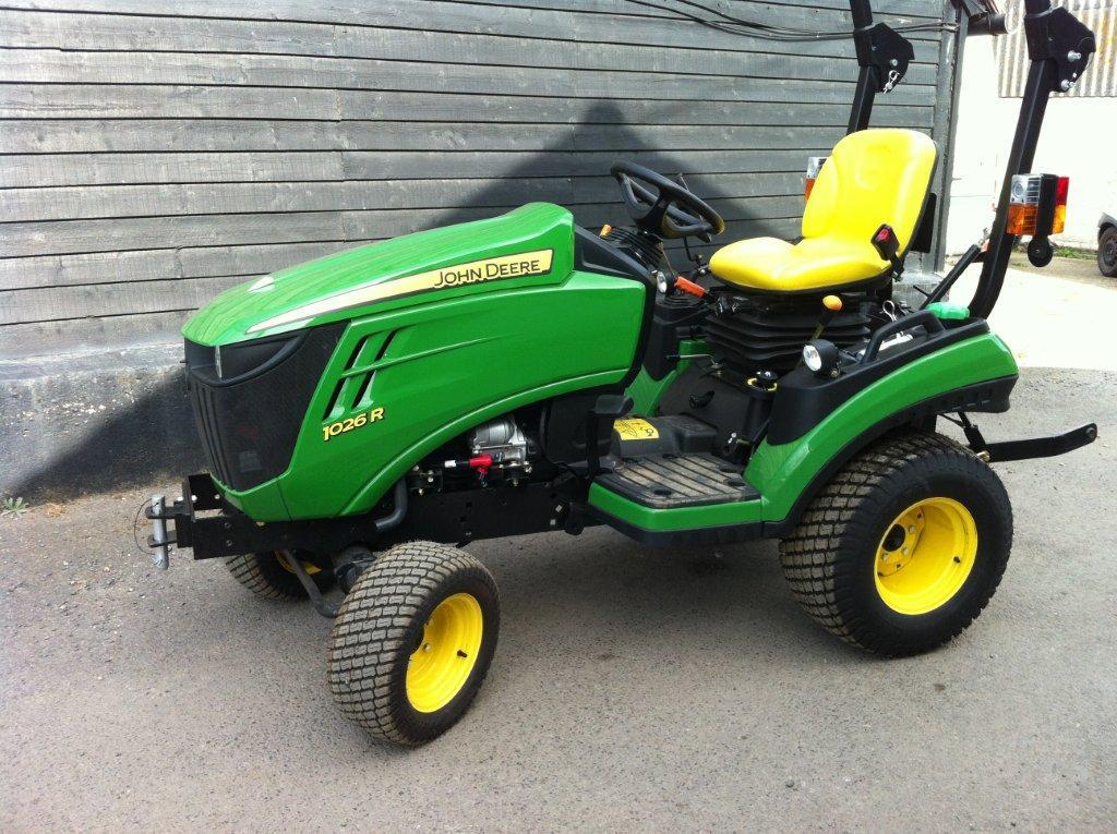 Farm Equipment Review John Deere 1026r Sub Compact Tractor Html Autos Weblog