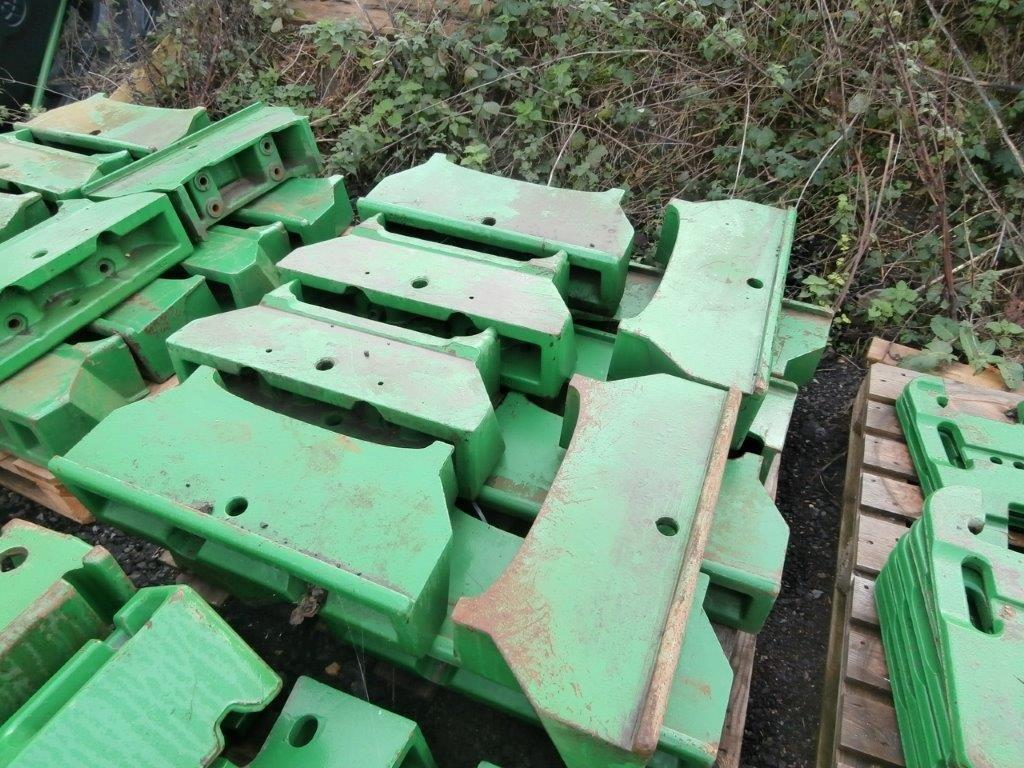 GC John Deere Front weight carriers USED