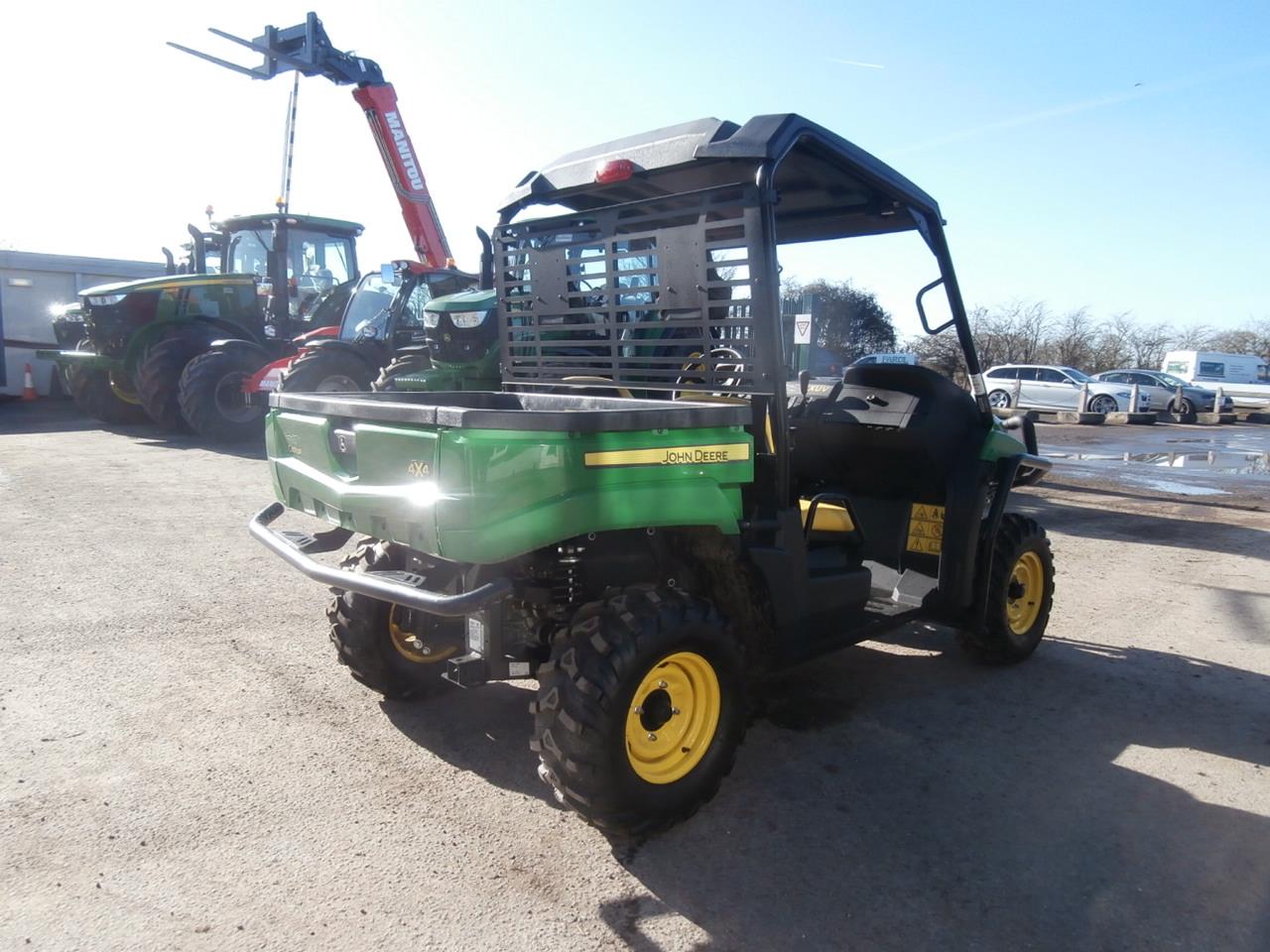 11033049 John Deere Xuv 550 Gator Ex Demo Farm Machinery