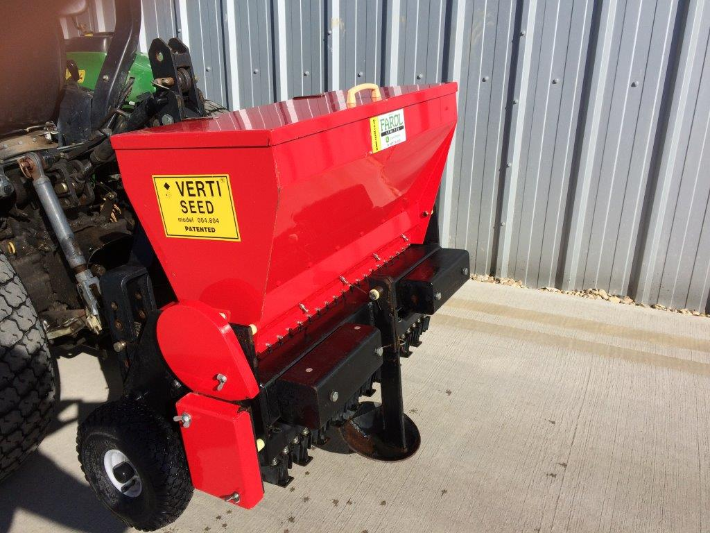 Compact Tractor Seeder : Dj verti seeder farm machinery