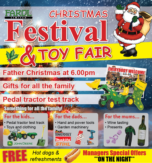Christmas Toy Fair & Open Evenings
