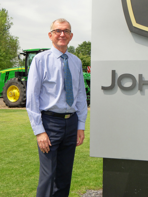 New branch manager at John Deere