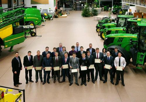 Graduation day for John Deere technicians