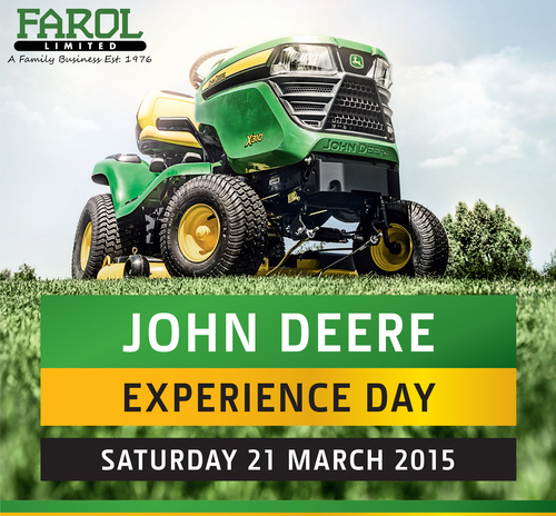 21st March - John Deere Experience Days