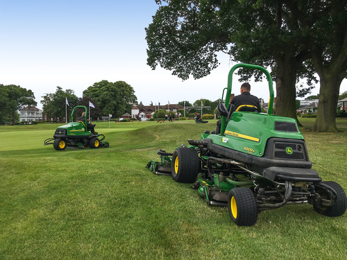Deere back at The Belfry