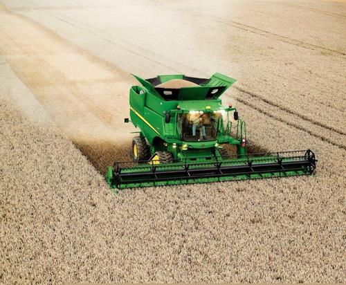 John Deere's flagship combines now produced in Zweibrucken