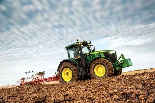 John Deere at FTMTA Farm Machinery Show 2015