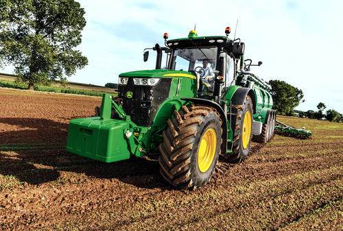 New 7310R tractor debuts at Cereals 2014