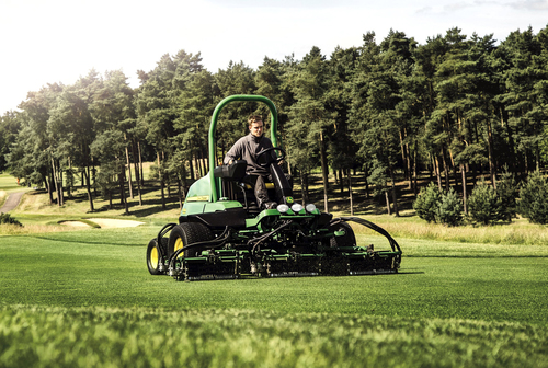New John Deere mower at BTME 2015