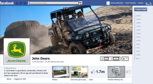 Join John Deere on Facebook