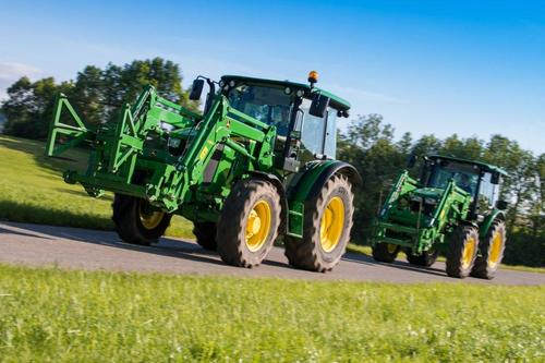 New generation 5M Series tractors from John Deere