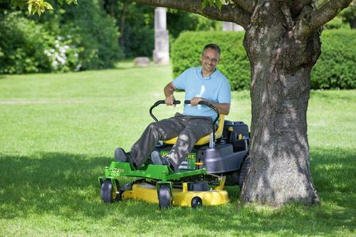 New John Deere zero-turn mower for smaller gardens