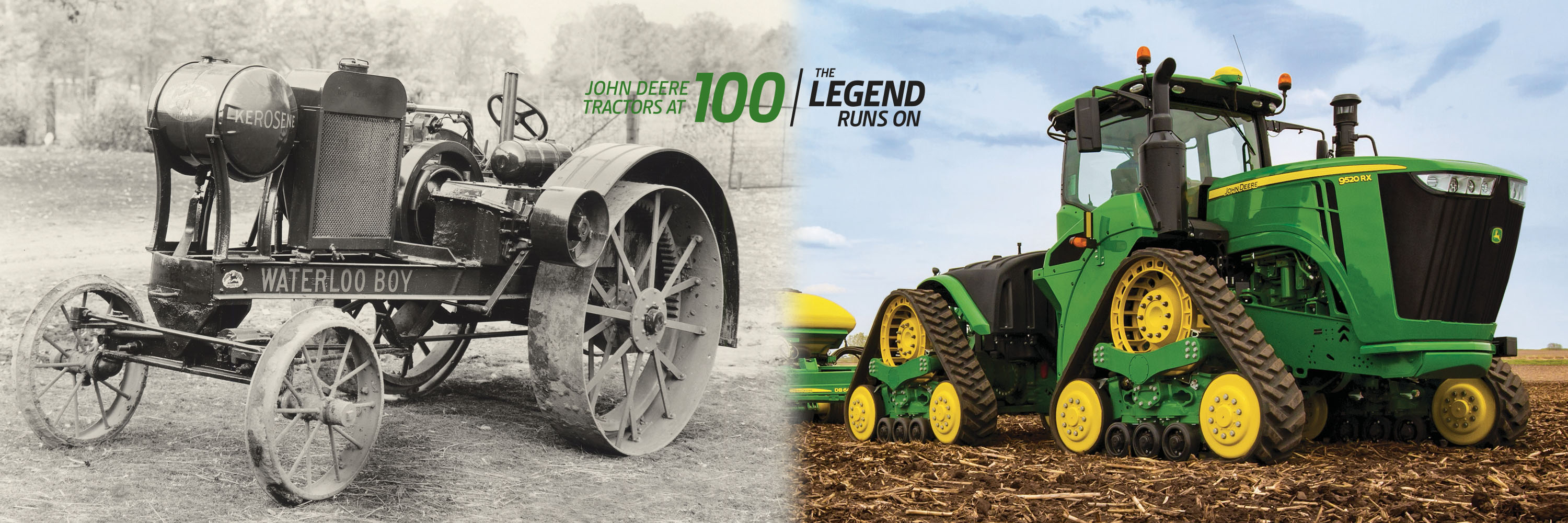 100 Years of Tractors Banner