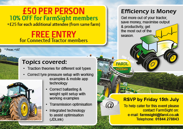 Tractor Optimisation Days 2
