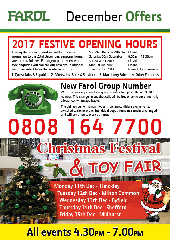 Farol Offers Flyer December 2017
