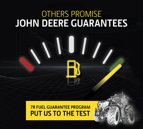John Deere rewards fuel efficiency
