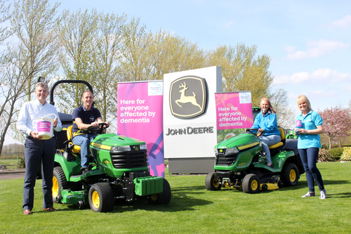 Driving a Deere for dementia