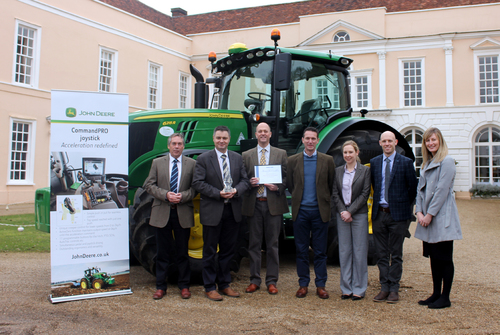 John Deere joystick wins innovation award