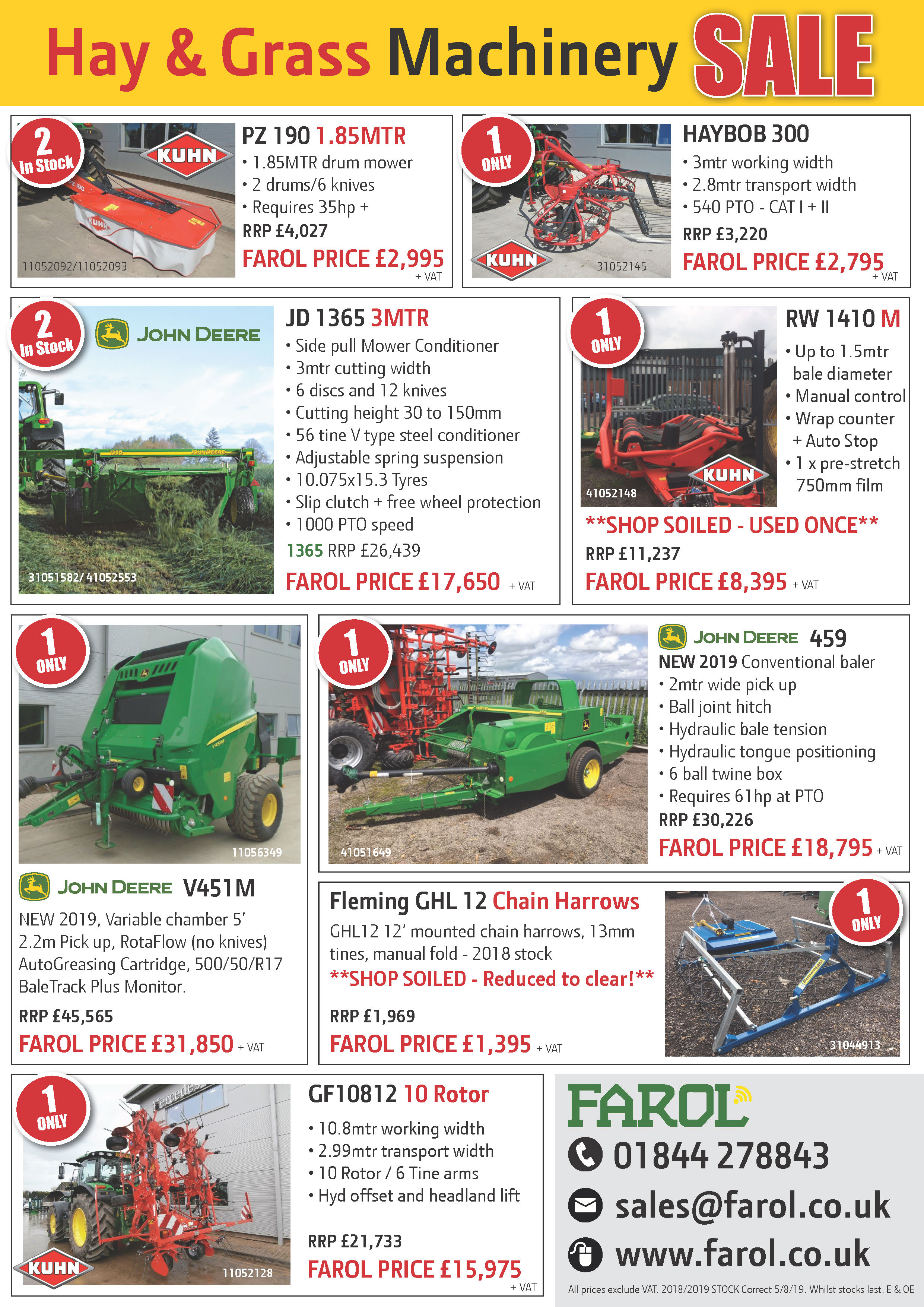 Hay & Grass Summer Offers