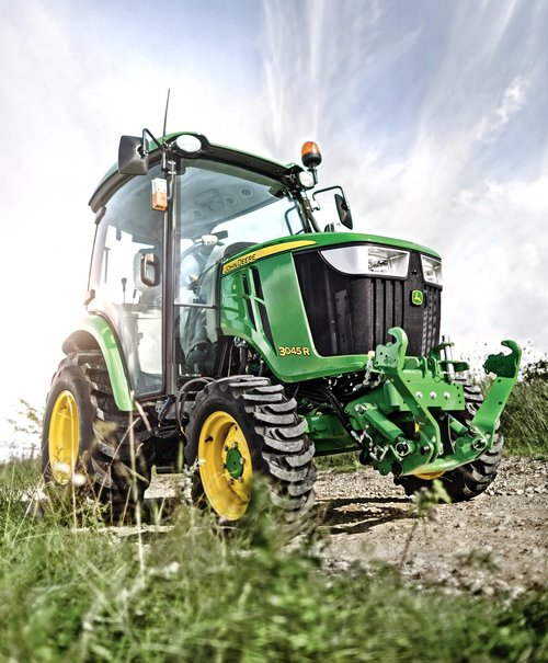 John Deere dealer display at SALTEX 2015