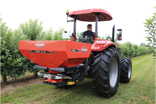 KUHN upgrades spreader range for grassland, mixed, orchard and vineyard operations