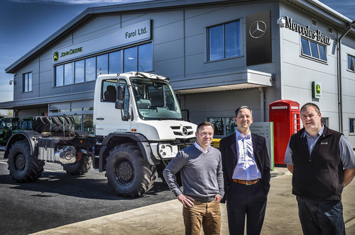 New mercedes benz franchised unimog dealer farol for Mercedes benz sales jobs