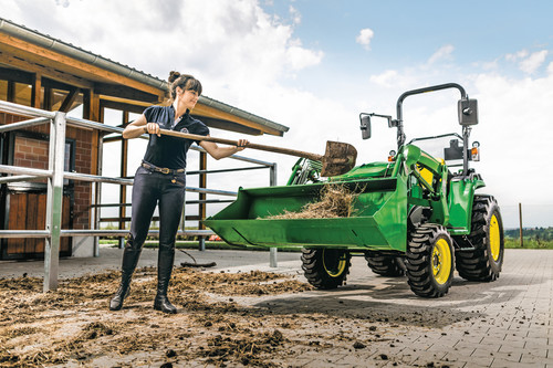 Easy does it with John Deere's new compact tractor
