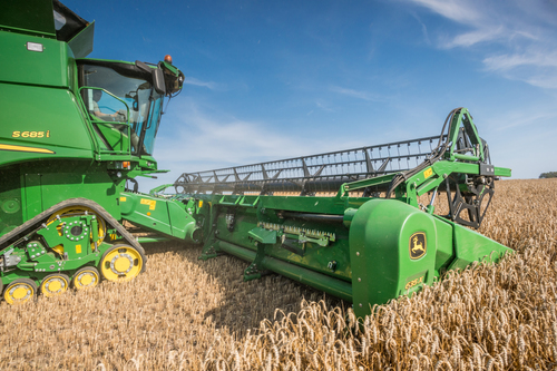 New John Deere technology at Cereals 2015