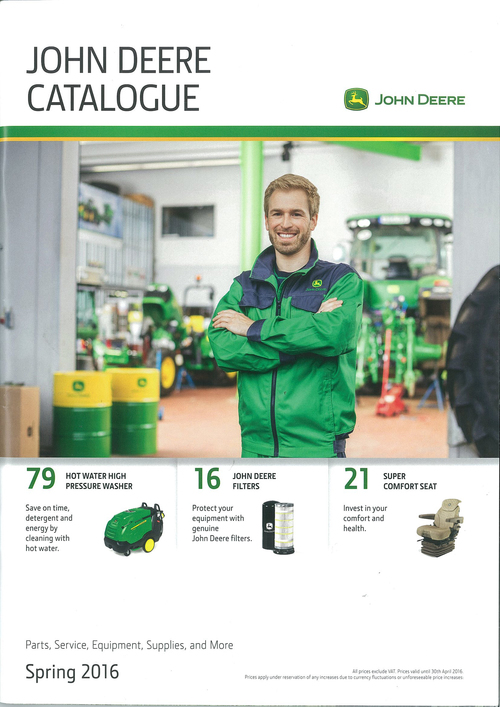 New parts catalogue from John Deere