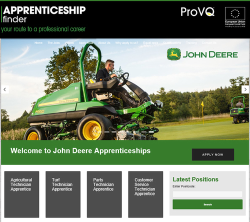ProVQ takes on John Deere training