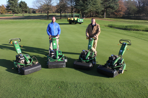 John Deere mowers meet the need for speed