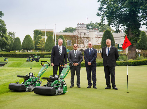 Wentworth Club and John Deere announce new partnership