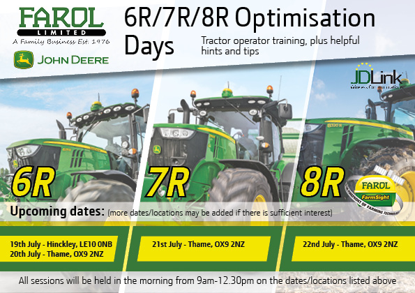 Tractor Optimisation Days 1
